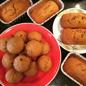 Buffin Cakes, Mini Loaves and Dairy Free Mini Loaves